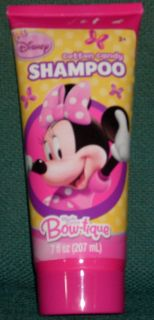Disney Mickey Mouse Clubhouse Minnies Bow tique Cotton Candy Shampoo