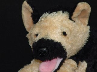 LIFE LIKE AURORA GERMAN SHEPHERD PUPPY DOG PLUSH STUFFED ANIMAL TOY