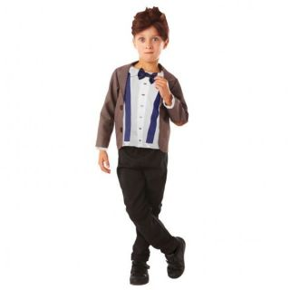 Doctor Dr Who Time Lord Matt Smith Fancy Dress Up Suit Outfit Costume