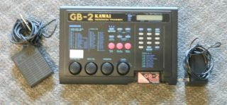 Kawai GB 2 Guitar Session Trainer Drum Machine w/Jazz Standard Disc