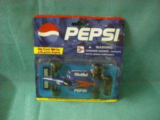 PEPSI DIE CAST INDY TYPE RACE CAR