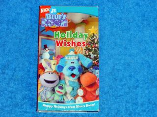 Blues Room Holiday Wishes Vhs