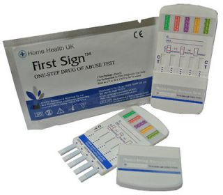 HOME DRUG PANEL TEST/TESTING KITS (Cocaine,Heroi​n,Speed