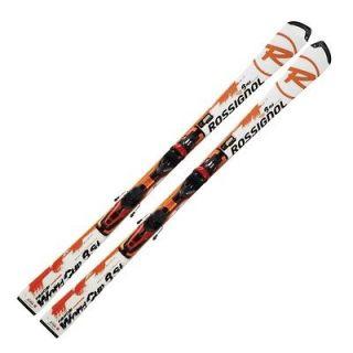 New Rossignol RADICAL 8SL SLANT NOSE TPX Slalom 165cm skis + bindings