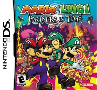 Mario & Luigi Partners in Time (Nintendo DSi XL LITE, 2005) NTSC