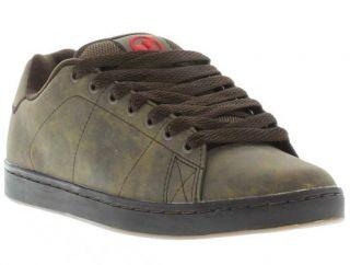 DVS Shoes Genuine Gavin 2 Mens Brown Skate Shoes Sizes UK 7   13