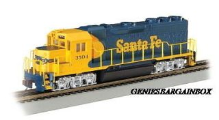 HO Scale Bachmann SANTA FE GP 40 Locomotive gbb ihc New in Box 63504