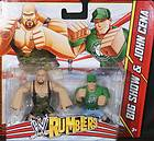 SHOW & JOHN CENA   WWE RUMBLERS TOY WRESTLING ACTION FIGURES 2 PACK