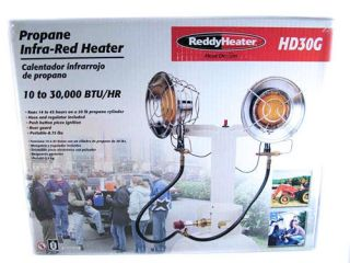 Reddy Heater Heat Demon Propane Infra Red Space Heater HD30G Brand New