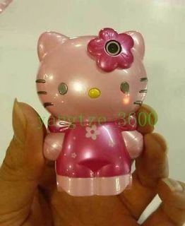 pink c168 Quad Band Hello Kitty Flip Lady dual SIM Cell Phone +1g