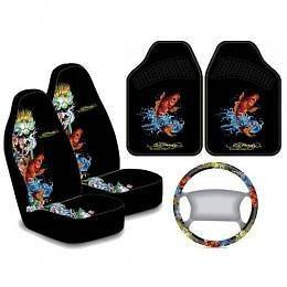 ed hardy koi seat covers in  Motors