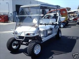 LIMO 6 PASSENGER SEAT Golf Cart car ez go EZGO lifted ELECTRIC EV