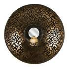 IRON WALL SCONCE CANDLE HOLDER RUSTIC MEXICO STYLE SCONCES HURRICANE