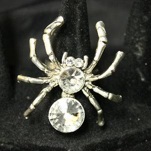 Spider cocktail rings fashion jewelry wholesale cheap discount bargain
