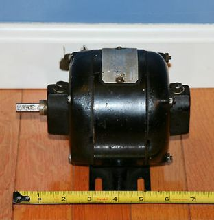 Vtg. Antique General Electric Motor Fan Watchmaker Jeweler Lathe