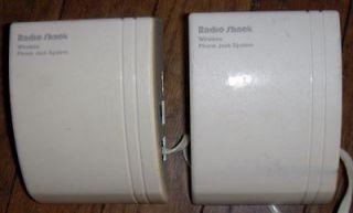 Radio Shack Instajack Wireless Phone Jack 43 160 And 161