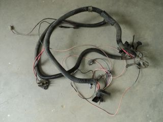 Engine Wire Harness Chevy GMC Truck 1984 250 I6 49 State Emissions