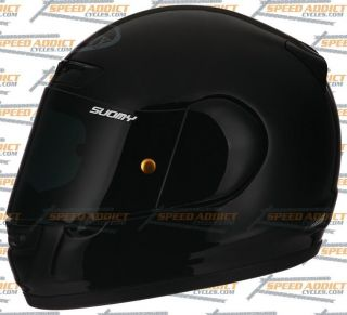 Suomy Apex Spec 1R Gloss Black Full Face Motorcycle Helmet