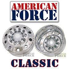 American Force 22.5 Classic Dually Wheels AF225 C4