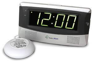 Sonic Alert Sonic Boom Alarm Clock bed shaker, extra loud alarm