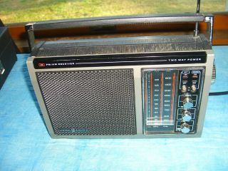 GE General Electric Portable AM/FM Receiver Radio Model 7 2875A
