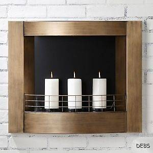 wall mount fireplace in Fireplaces