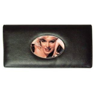 Marilyn Monroe Card Money Holder Leather Long Wallet Ladies Gift HOT
