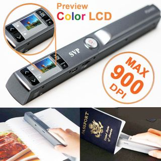 Newly listed SVP Portable Handheld Scanner w/ Preview Color LCD + JPG