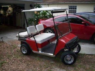 Ez go Marathon Golf Cart Wrap Around Diamond Plate Kick Panels