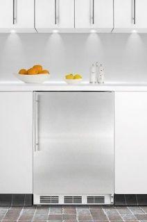 Refrigerator Stainless Steel Undercounter Lock CT66BI 5.1 cu ft