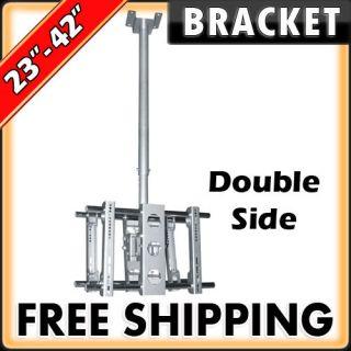 Swivel 23 27 30 32 37 40 42 Double LED TV Mount Bracket Flat Screen