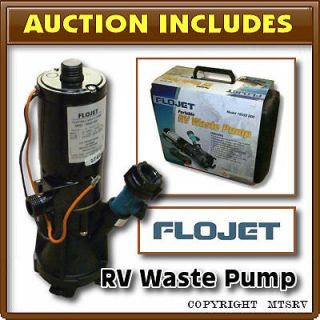 Newly listed FLOJET Portable RV Waste Water Macerator Pump Kit   Brand