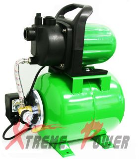 SHALLOW WELL GARDEN JET WATER PUMP BOOSTER TANK W PRESSURE SWITCH