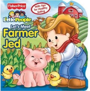 Fisher Price Little People   Lets Meet Farmer Jed   NEW   Healthy