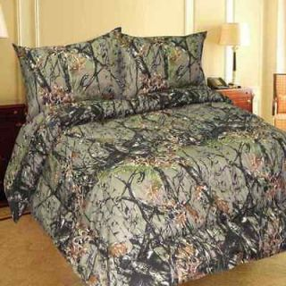 New 6pc. Microfiber The Woods Camo Sheet Set Queen Size