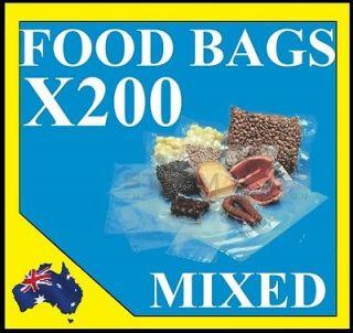Vacuum Food Sealer Bags Mixed 20cm 27cm 35 cm Saver Storage Seal
