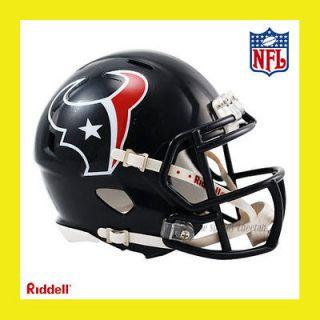 HOUSTON TEXANS OFFICIAL NFL MINI SPEED FOOTBALL HELMET by RIDDELL