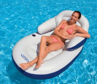 INTEX Comfy Cool Inflatable Floating Lounge Chair