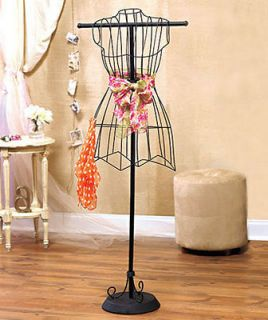 Vintage Wire Dress Form Mannequin Boutique Clothes Display Stand NIB