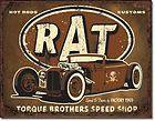 SIGN HOT RAT ROD FORD DEUCE COUPE ROADSTER SEDAN MODEL A T BUCKET 1783