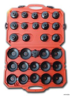 30pcs Oil Filter Cap Wrench Cup Socket Tool Set Mercedes/BMW/VW/Audi