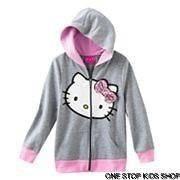 HELLO KITTY Girls 4 5 6 Sweatshirt HOODIE Coat Jacket Shirt