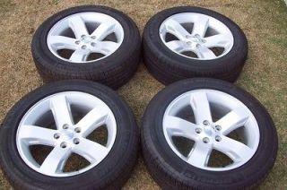 2012 Charger R/T Magnum OEM 18 Wheels Tires Challenger Rims