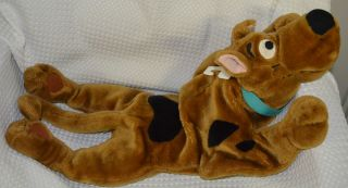 28 Cartoon Network SCOOBY DOO 2000 Pillow Floppy Stitched Eyes Soft