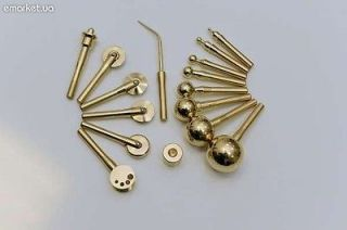 15 Millinery Flower Making Tools Brass and Soldering Iron