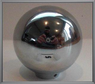Custom Chrome Ball Stick Shift Gear Shifter Knob for Hotrod Ratrod