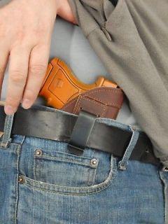 Barsony Brown Leather Gun Concealment IWB Holster for Beretta Nano 9mm