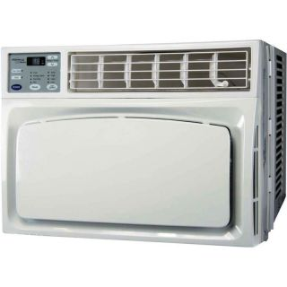BTU Window Air Conditioner, 700 Sq.Ft. Flat Design AC Unit w/ Energy