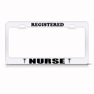 nurse license plate frame in License Plate Frames
