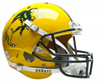 NORTH DAKOTA STATE BISON Schutt AiR XP REPLICA Football Helmet NDSU